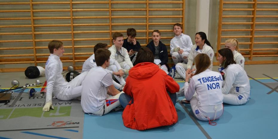 Fekting med Stavanger fekteklubb