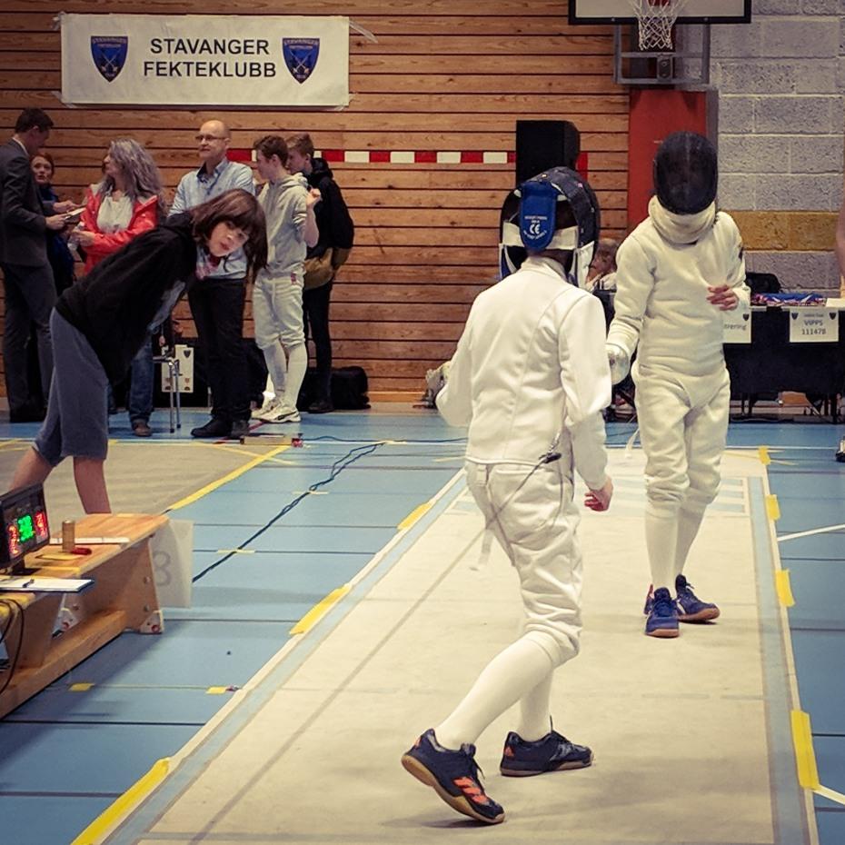 Fekting i Stavanger fekteklubb en god barneidrett / ungdomsidrett